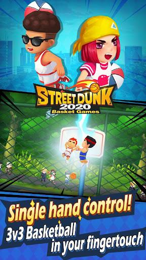 Street Dunk-2020 Basket games screenshot 1