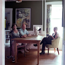 Photo: title: Nell, Peter & Deb Whitney, Portland, Maine date: 2010 relationship: friends, art, business (art), met through art world Portland years known: 10-15