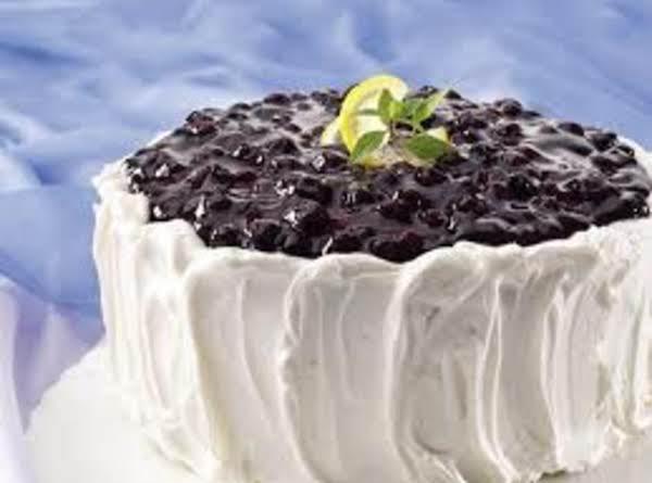 Blueberry-lemon Cake Supreme