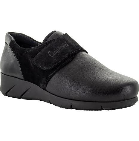 Nea svart stretch sko med kardborre