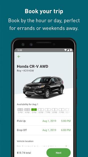 Zipcar screenshots 4