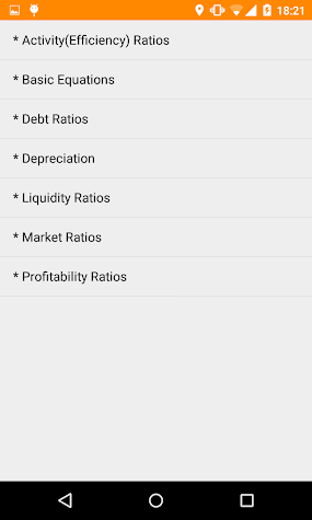 Account: Accounting Calculator Screenshot