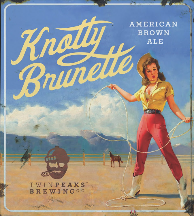 Logo of Twin Peaks Knotty Brunette