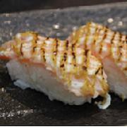 Aburi Salmon Honey Mustard Nigiri
