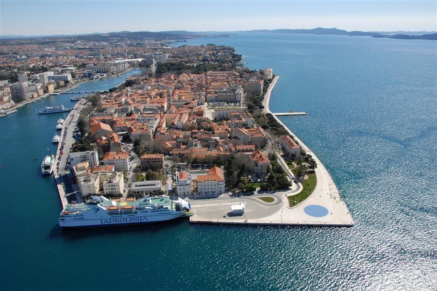 хорватия город задар фото заметить