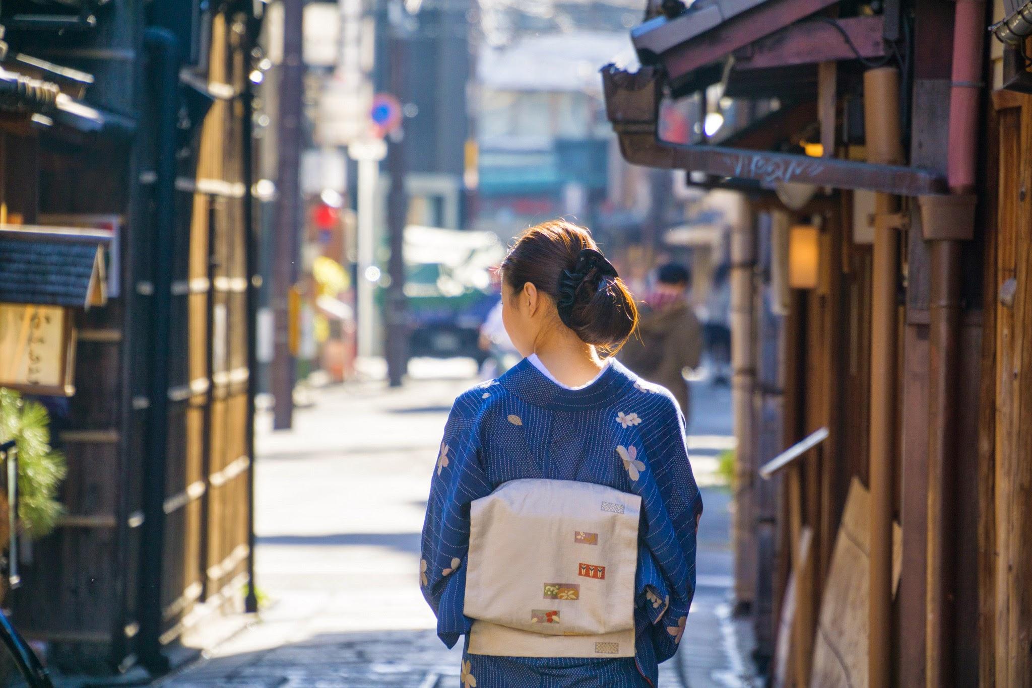 京都 祇園 和服2