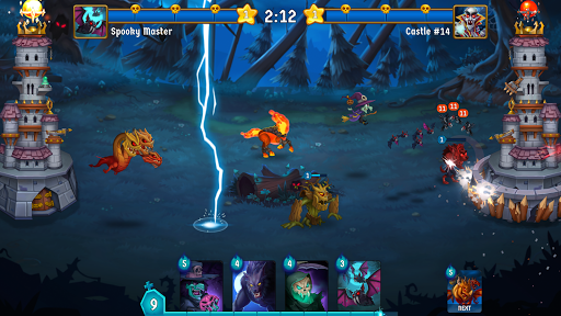 Spooky Wars - Castle Battle Defense Strategy Game SW-00.00.58 screenshots 1
