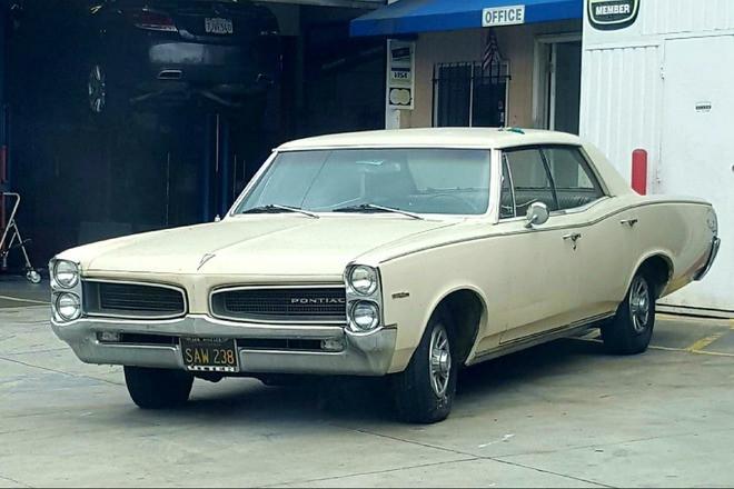 1966 Pontiac Tempest Custom Clean and Original Hire CA