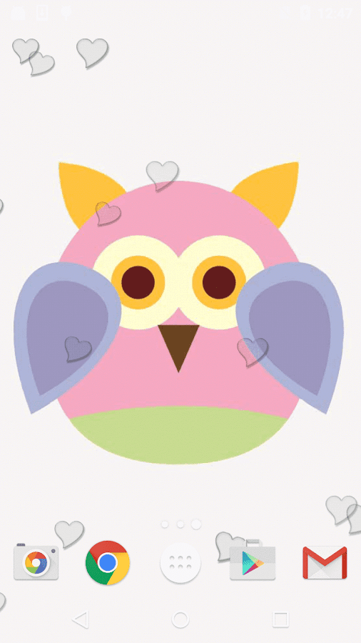 Cute owl live wallpaper android apps on google play cute owl live wallpaper screenshot voltagebd Gallery