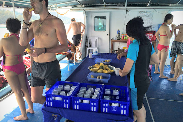 Get some snacks on the way back to Koh Lanta