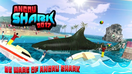 angry shark simulator game android apps on google play  angry shark 2017 simulator game screenshot thumbnail
