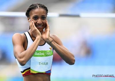 Geen tweede medaille voor Thiam