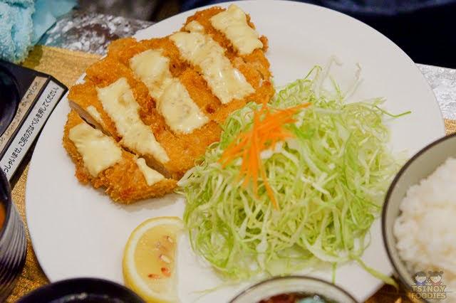 cheese tonkatsu set