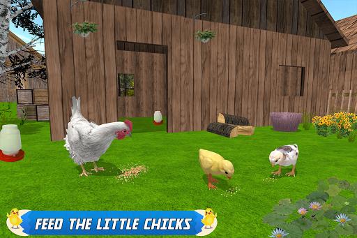New Hen Family Simulator: Chicken Farming Games screenshots 9