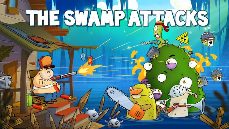 Swamp Attack v2.2.2 (Mod Money/Energy/Unlocked)
