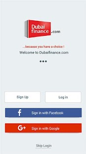 Dubaifinance.com- screenshot thumbnail