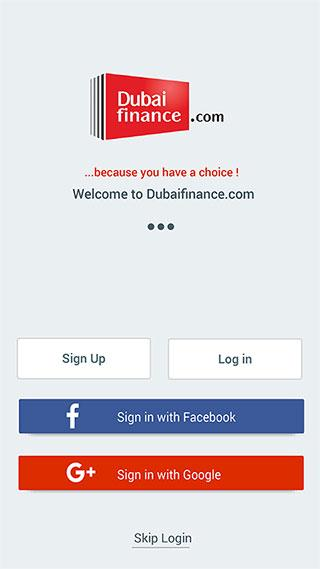 Dubaifinance.com- screenshot