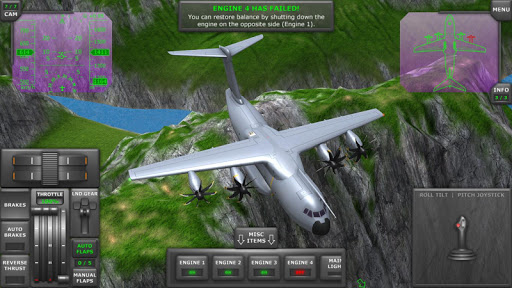Turboprop Flight Simulator 3D  screenshots 4