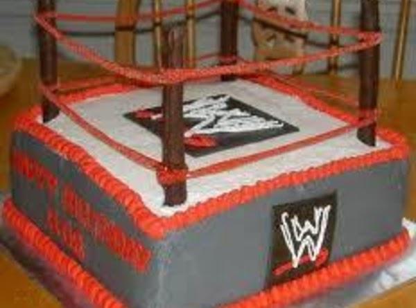 Wwe Birthday Cake And Party Idea Recipe
