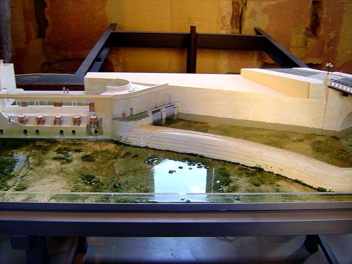 Photo: Maqueta de los molinos del siglo XVIII