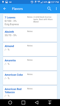 EJuice Calculator APK screenshot thumbnail 3