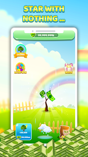 Tree For Money - Tap to Go and Grow 1.0.5 screenshots 1