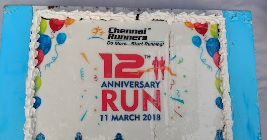 20180311 Chennai Runners 12th Anniversary Run @ Anna University