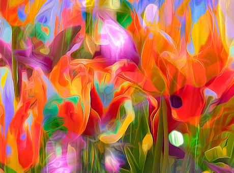 motley flowers