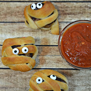 Mummy Meatballs Recipe- Halloween Snack for Kids