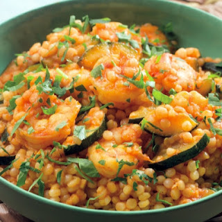 Spiced Shrimp & Pearl Couscous