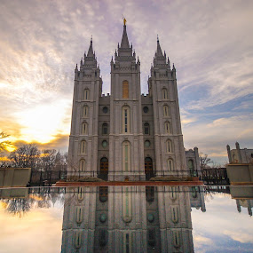 Salt Lake Temple by Jay Chen - Buildings & Architecture Places of Worship