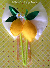 Photo: Μπομπονιέρα Λεμονάκι Διπλό! Διαστάσεις Λεμονιών 8,5 x 9 εκατοστά.