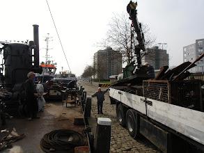 Photo: Oud ijzer weg