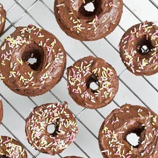 Ashley's Triple Chocolate Doughnuts.