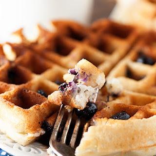 Blueberry Muffin Waffles