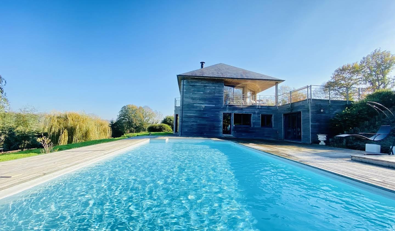 Propriété avec piscine et jardin Pont-l'eveque