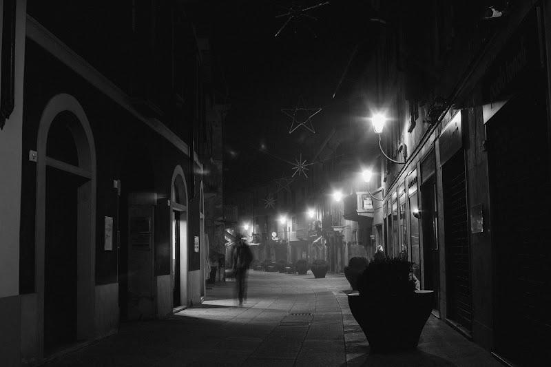 Borgosesia by night di Miche