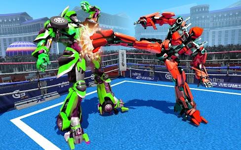 Futuristic Robot Ring Fighting 2020 2