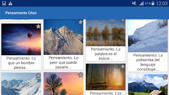Download Pensamiento Citas y frases famosas For PC Windows and Mac apk screenshot 8