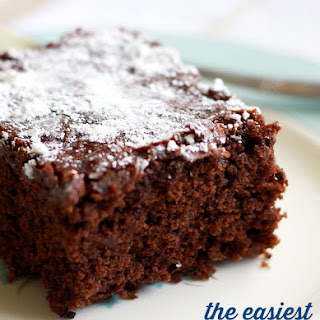 The Easiest Gluten Free and Vegan Chocolate Cake.