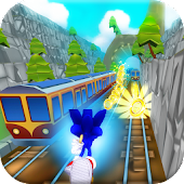 Subway Sonic Train Surf
