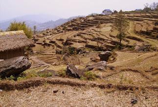 Photo: typische Landschaftt mit Terassenfeldern