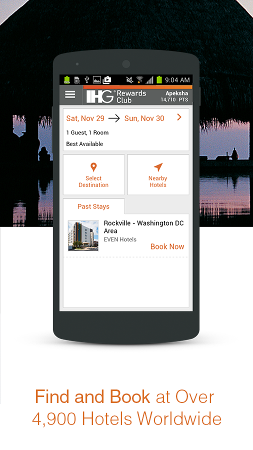 IHG® Hotel Booking & Deals- screenshot