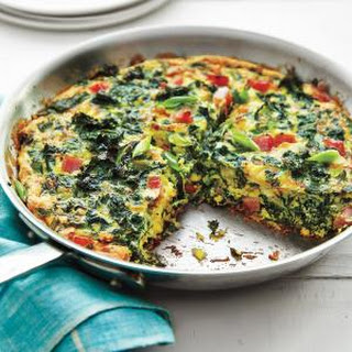 Green Eggs and Ham Frittata.