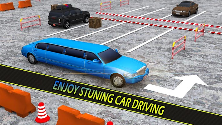 Luxury Limousine Car Parking - screenshot