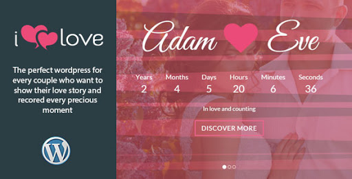 ilove v4.0 - Responsive Wedding Event WordPress Theme