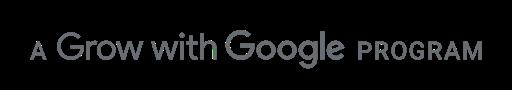 A Grow with Google Program logo