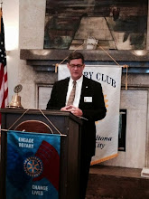 Photo: Rotary Installation Banquet Keynote Speaker Todd Richardson