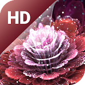 Magic flowers Live Wallpaper