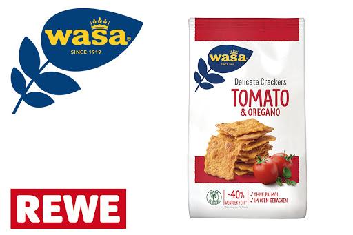 Bild für Cashback-Angebot: Wasa Delicate Crackers Tomato  & Oregano - Wasa